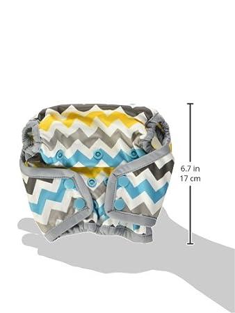 Rumparooz Newborn Cloth Diaper Cover Snap Peacock