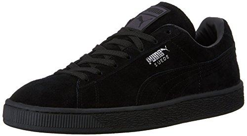 PUMA Suede Classic Sneaker,Black,12.5 M US Women's/11 M US Men's