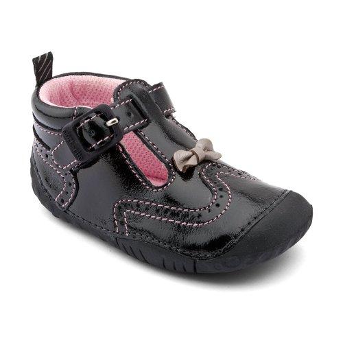 Start-rite , Baby Mädchen Lauflernschuhe, schwarz - schwarzer lack - Größe: S 37 EU