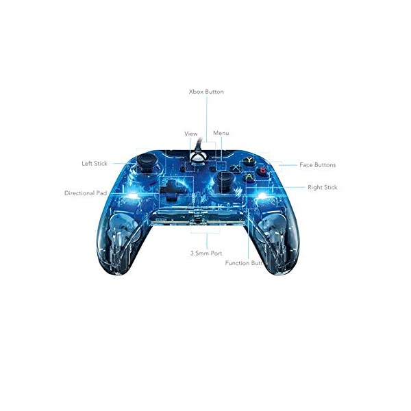 PDP 048-121-NA Afterglow Wired Controller for Xbox One (048-121-NA) - Xbox One 8
