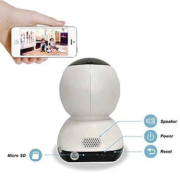 Cámara IP 720P,Notificación en Tiempo Real,4x Zoom Digital,Cámara ip Videovigilancia