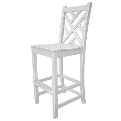 POLYWOOD CDD102GY Bar Chairs, Slate Grey