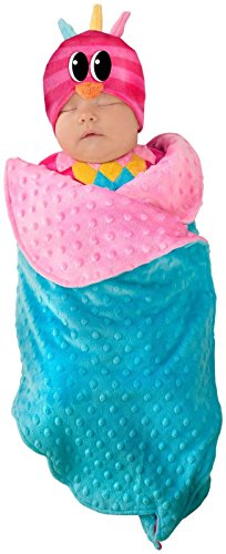 Princess Paradise Baby Swaddle Wings Drooly Drac Deluxe Costume, Sweet Owl, 0/3M