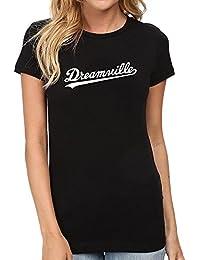 Womens Dreamville Records Music Fans T-Shirts Women Tee