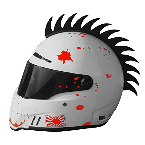 Moto Loot Helmet Mohawk For Motorcycles  Sportbikes  Dirt Bikes  Snowmobiles  Cruisers And Gifts  Helmet Not Included