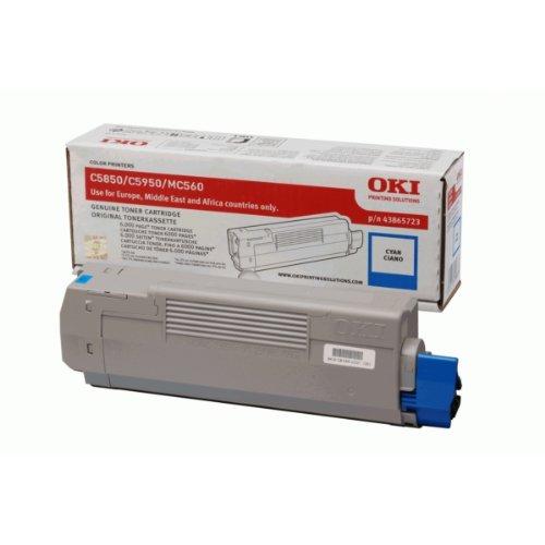 OKI Cyan toner for C5850/5950