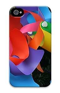 Rainbow Windmills Sakuraelieechyan Iphone 4/4S Hard Protective 3D Case Kimberly Kurzendoerfer