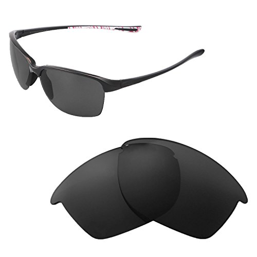 Walleva Replacement Lenses For Oakley Unstoppable Sunglasses - Multiple Options available (Black - - Oakley Replacement Unstoppable Lenses