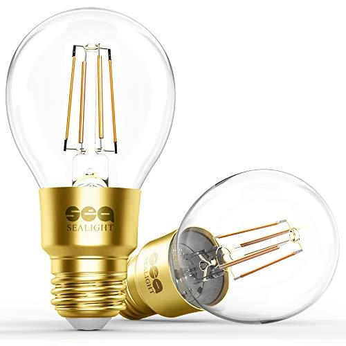 smart wifi led bulb sealight smart light bulb glass vintage edison light a19 dimmable soft. Black Bedroom Furniture Sets. Home Design Ideas