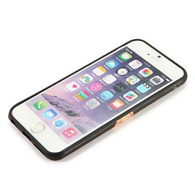 Fundas y estuches para teléfonos móviles, Para la caja de la contraportada del patrón de la cubierta del caso del iphone 7 7plus de Apple flor suave tpu 6s más 6 más 6s 6 ( Modelos Compatibles : IPhon IPhone 6s Plus/6 Plus