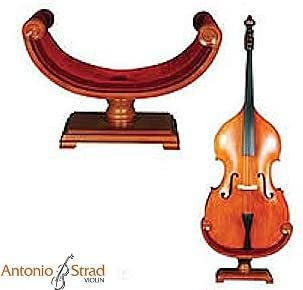 Ornate Carved Wooden Cello Stand