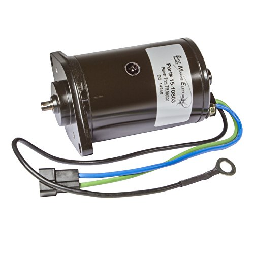OMC Power Tilt Motor 2 Wire T Plug 2 Bolt Mount 1980-1985 982058 6204 18-6755 (Motor Omc 1985 Outboard)