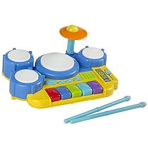 Winfun - Batería electrónica infantil - 30x23x12 cm (ColorBaby 44253)