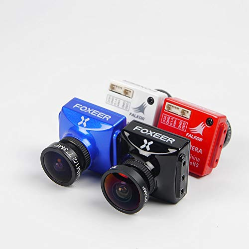 SAUJNN Foxeer Falkor 1200TVL 4:3 16:9 switchable 2.5/1.8mm Lens PAL/NTSC Switchable FPV Camera Support Camera Remote Control W/Bracket