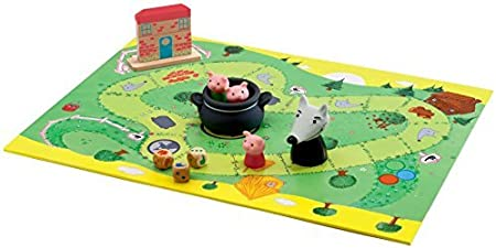 Game-Woolfy Board Game by Djeco: Amazon.es: Juguetes y juegos