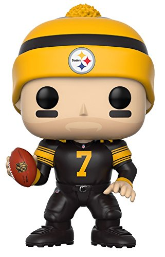 Steelers (Funko Pop NFL: Ben Roethlisberger (Steelers Color Rush) Collectible Figure)