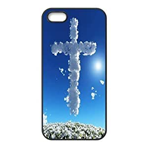 C-EUR Diy Jesus Christ Cross Hard Back Case for Iphone 5 5g 5s