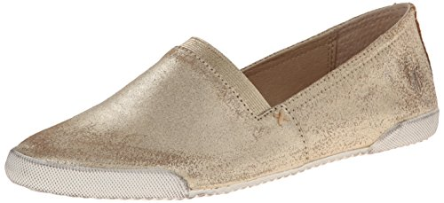 Sneaker Gold On Melanie Fashion Slip Suede Metallic Women's Frye qxUvXSwSB