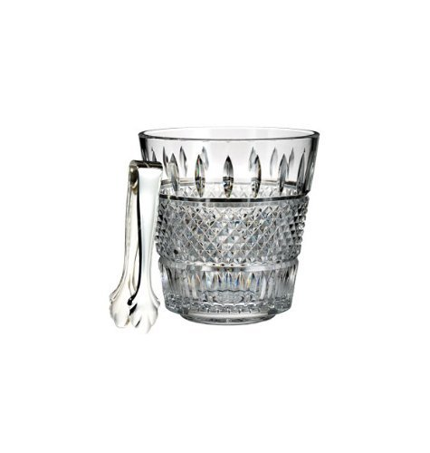 - Waterford Irish Lace Ice Bucket with Tongs