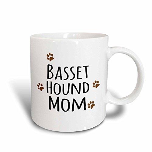 3dRose mug 154064 2 Basset Doggie Ceramic