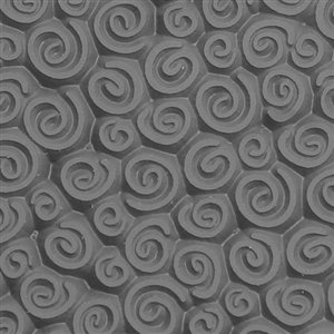 Cool Tools - Flexible Texture Tile - Spirals Mini - 4' X 2' TTL-120