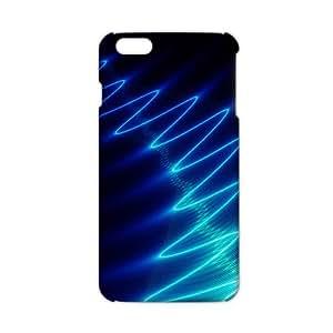 Cool-benz Blue light line 3D Phone Case for iPhone 6 plus