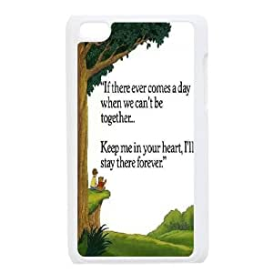 High Quality {YUXUAN-LARA CASE}Winnie The Pooh & Quotes FOR IPod Touch 4th STYLE-16