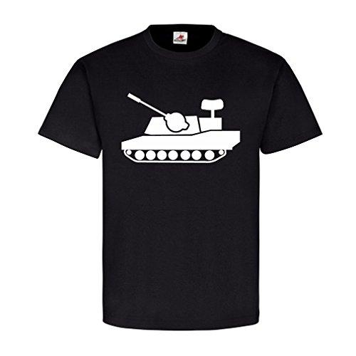 Flak tank Gepard anti-aircraft cannon tank FlakPz Bundeswehr Germany Comic