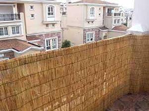 Amazoncom master garden products reed fence 2 feet x for Master garden products