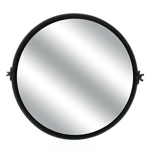Adjustable Round Tilting Vanity Mirror | Wall Mounted 14