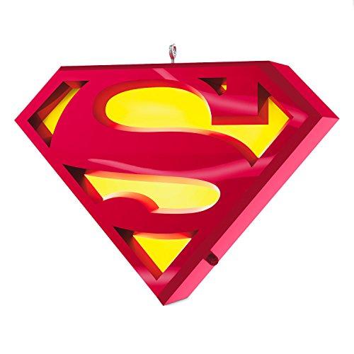 Hallmark Keepsake 2017 SUPERMAN A Symbol of Hope Musical Christmas Ornament With - Christmas Hope Ornament
