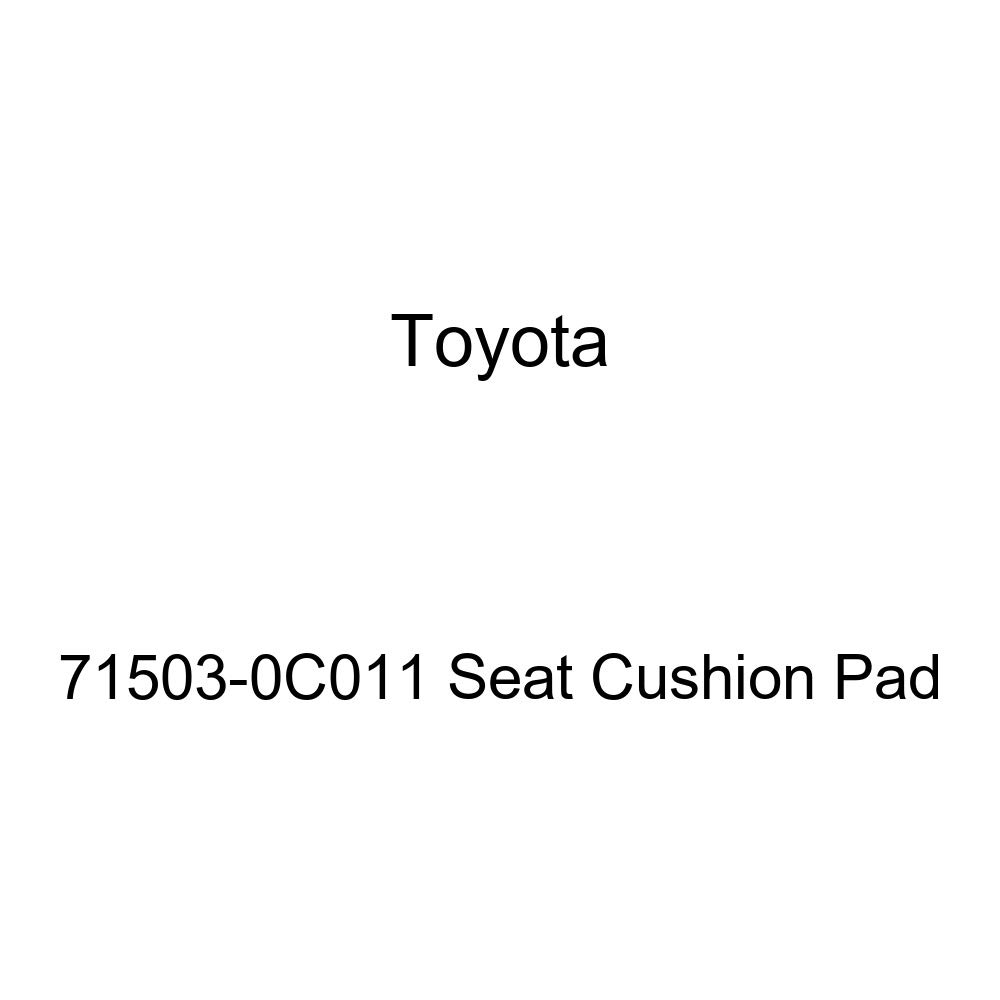 Toyota Genuine 71503-0C011 Seat Cushion Pad