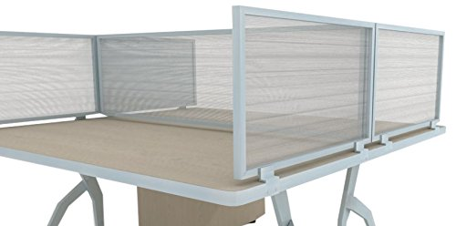 Polycarbonate Desk Mounted Privacy Panel product image