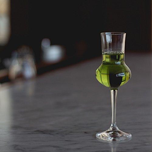 Crystal Cordial Glass - Bormioli Rocco Riserva Grappa Glasses, Set of 6