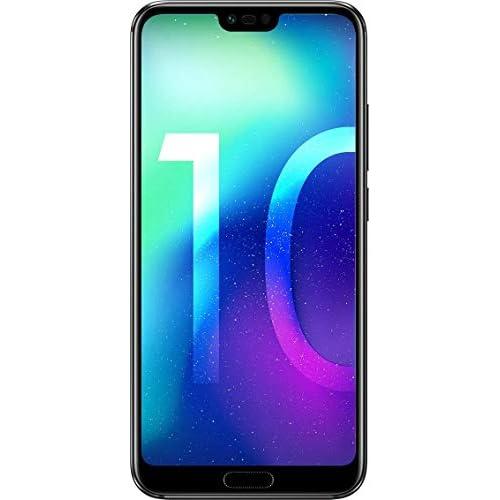 chollos oferta descuentos barato Honor 10 Smartphone Android pantalla de 5 84 19 9 4G cámara trasera 16 24Mpx y frontal 24Mpx 4GB RAM 64GB ROM lector de huellas desbloqueo facial Octa Core 3400 mAh negro