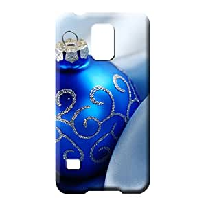 samsung galaxy s5 phone case cover Design High Cases Covers Protector For phone christmas blue ball