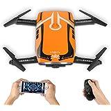 WaraShop Foldable Mini RC drone, Furibee H818 FPV Wifi Drone 720P Camera with 2.4G One Key Start Flight
