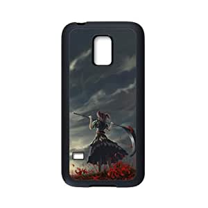 Samsung Galaxy S5 Mini Case,Girl With Scythe High Definition Wonderful Design Cover With Hign Quality Rubber Plastic Protection Case