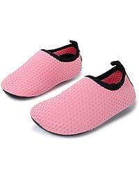 Baby Boys Girls Barefoot Swim Water Skin Shoes Aqua Socks...