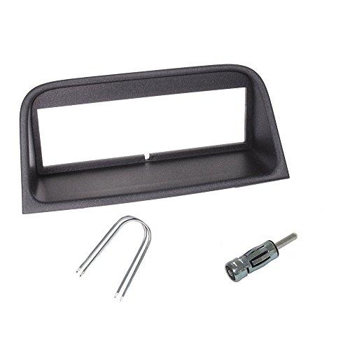 Peugeot 406 Cars - Peugeot 406 Single Din Fascia Fitting Kit Car Stereo Installation Kit