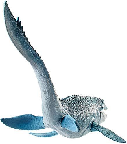 Jurassic World Real Feel Mosasaurus, Big Action with Jurassic World Real Feel Mosasaurus Figure