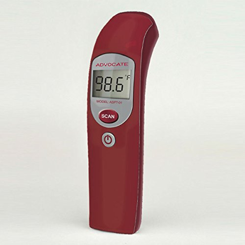 Advocate Infrared Thermometer Best Digital Talking Non Contact Digital Baby Forehead Medical Thermometer Multi Function Uses Approved IR Laser No Touch Technology by Advocate (Image #2)