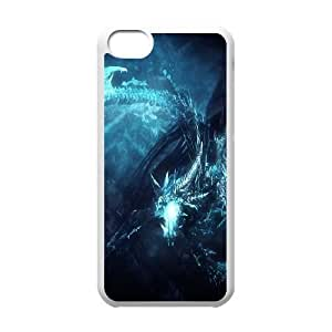 iPhone 5c Cell Phone Case White Defense Of The Ancients Dota 2 WINTER WYVERN 002 KQ3499803