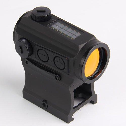 HOLOSUN HS403C Solar Power Micro Red Dot Sight, Black