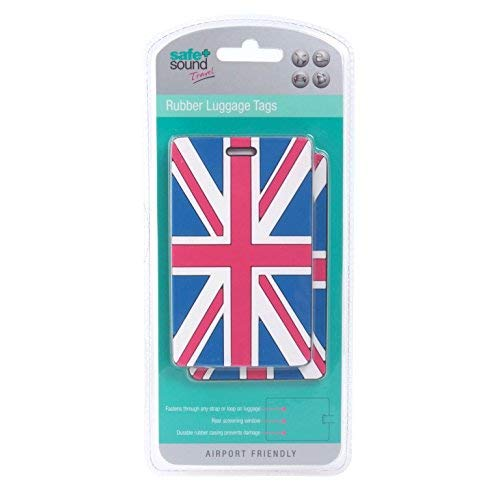 Safe and Sound Travel Hardwearing Passport Holder with Elastic Fastening Fits Most Passports Colour Received Will Vary