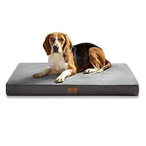 Bedsure Cama Perro Ortopédica Grande – Colchón Perro Lavable con Funda Desenfundable y Evestimiento Impermeable, Espuma…