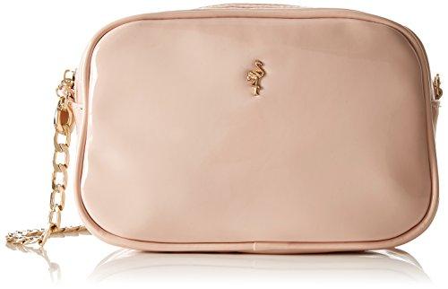 Paco Mena Dianthus, sac à bandoulière rose pour femmes (maquillage rose)
