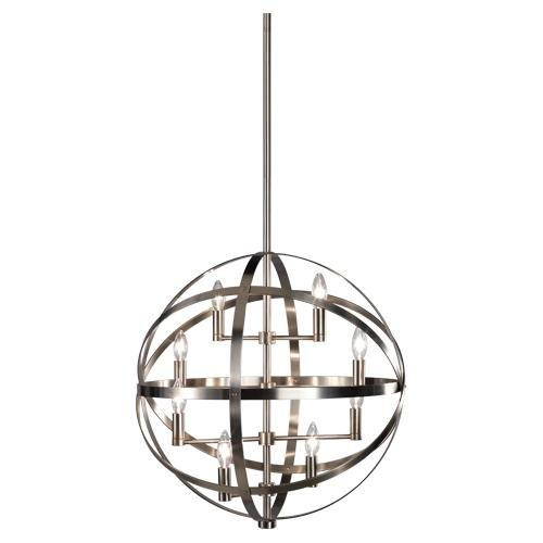 Robert Abbey D2164 Pendants with Shades, Dark Antique Nickel Finish