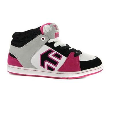 1fe0ab2317392d Etnies Rookie Weiß Rosa High Top Damen Sneaker EUR 41.5  Amazon.de ...