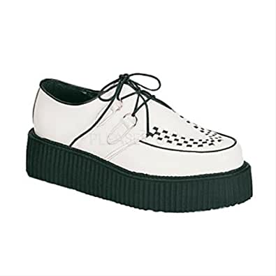 "CREEPER-402, 2"" P/F Wht Basic Creeper Shoe(4)"